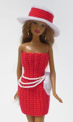 Schickes Sommer-Outfit einfach selberhäkeln: Hut, Kleid, Clutch