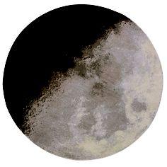 Luna Round 4'11 Gray & Black design inspiration on Fab.