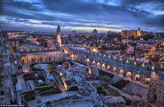 What Jerusalem looks like at night