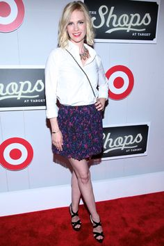 January Jones and Giada De Laurentiis attend Shops at Target Launch Party