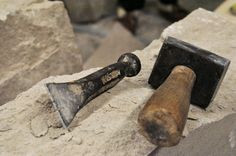 Stone Carving Tools, Stone Quarry, Stone Masonry, Stone Work, Hunger Games, Metal Working, Concrete, Sculpture, Technology