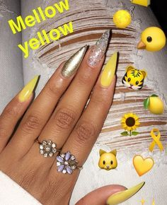Image result for matte yellow and red nails