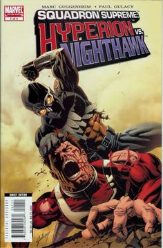 Squadron Supreme: Hyperions Vs. Nighthawk # 1 by Paul Gulacy