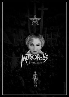 Metropolis    Poster para projeto do CineMotel para o filme Metropolis.
