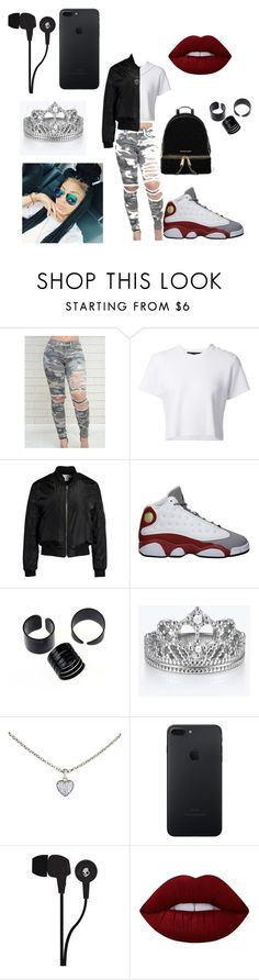 """CUTE OR NAH?"" by queen-asia22 on Polyvore featuring Proenza Schouler, Sans Souci, Retrò, Cartier, Skullcandy, Lime Crime and MICHAEL Michael Kors"