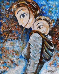 στάση νηπιαγωγείο: Υπέροχοι πίνακες για τη μητρότητα από την Katie m....