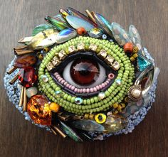 Wall Eye Pair Hanging by Betsy Youngquist by betsyyoungquist