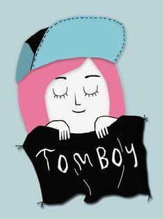 #illustration #ilustracion #tomboy #rm