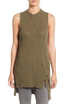 Sleeveless Knit Cotton Tunic