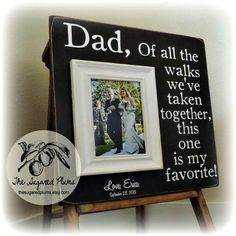 Parents Wedding Gift Parents of the Bride by thesugaredplums, $75.00
