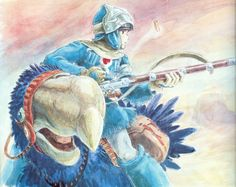 Nausicaa of the Valley of the Wind wallpaper
