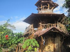 Treehouse hostel (Isla Ometepe, Nicaragua) and other accommodations