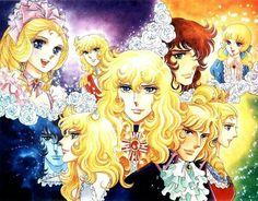 Japanese comics, rose of Versailles ベルサイユのばら