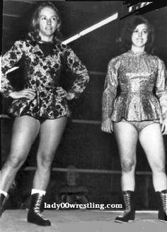 Vintage Retro Women's Girls Wrestling 50's 60's 70's Golden Age DVDs