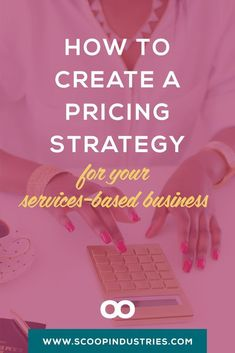 Pin this explore the topic of pricing for services-based businesses. Small Business Accounting, Business Money, Business Planning, Business Marketing, Creative Business, Business Tips, Online Business, Marketing Tools, Content Marketing