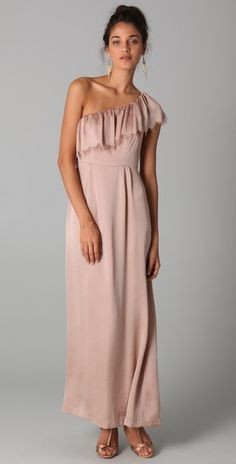 rebecca taylor bmaid to coordinate with the short dress