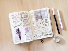 Lucie   19   This blog is full of inspiration for your bullet journal For phones: my posts   asks  ...