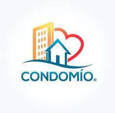 Logotipo de Software para empresas de Bienes Raices. 2013® Cancun Q.R. Diseño Carlos Escalante