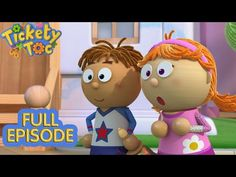 Bell Ringing Time 🔔 - Tickety Toc FULL EPISODE on ZeeKay Junior - YouTube