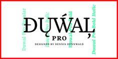 Font dňa – Duwal Pro (zľava 50%, od 29,50€) - https://detepe.sk/font-dna-duwal-pro/