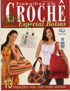 otra revista de bolsas y patrones en el link - LA CASITA DE MABELY - Gabitos