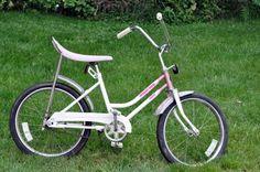 My first bike. I loved it so much. Huffy Desert Rose. Good memories