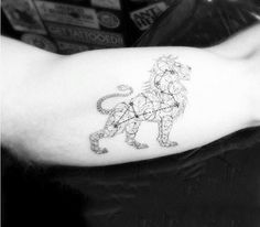 leo tattoo lion tattoo tatoo leo the lions star constellation tattoo ...