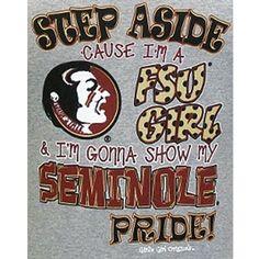Girlie Girl Originals - Florida State T-Shirts Seminoles Pride