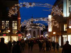 How can you extend the festive season, attract visitors and keep energy costs low all at the same time? Essen Light Festival is a great example of the answer. Attraction, Festive, Destinations, Lighting, Essen, Lights, Travel Destinations, Lightning