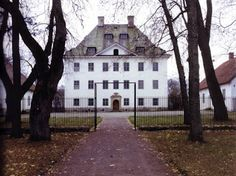 Louhisaaren kartano, Finland. Birth place of C.G.E. Mannerheim.
