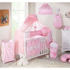 Wildflower Blush Crib Bedding Set at aBaby. We offer Wildflower Blush Crib Bedding Set for your baby at great prices. Nursery Bedding Sets, Baby Nursery Bedding, Crib Bedding Sets, Baby Bedroom, Girl Nursery, Girls Bedroom, Crib Accessories, Nursery Bunting, Baby Cribs