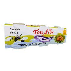 Delizioso tonno pinna gialla dal colorito roseo. Confezione 3xgr.80 a soli € 1,99!!