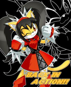 Honey the Cat: Back in Nyaction by Trakker.deviantart.com | Trakker is celebrating the return of Honey in Sonic the Fighters with style!