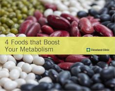 Eat THESE 4 foods to keep your #metabolism moving. #diet