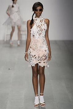 London Fashion Week Day 1 Bora Aksu Spring/Summer 2015 Ready to wear 12 September 2014