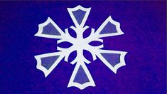 How to make a paper snowflakes for Christmas party decorations - Learn How To Make Paper Snowflakes - Easy Origami Snowflakes Tutorial - Paper Snowflake Desi. Paper Snowflakes Easy, Paper Snowflake Designs, Paper Craft Making, How To Make Paper, Easy Origami, Christmas Party Decorations, Design Tutorials, Paper Crafts, Ideas