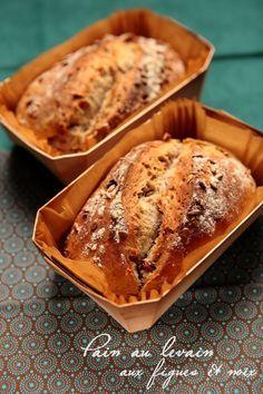 pain au levain aux figues et aux noix RDV aux mignardises