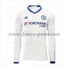 Camisetas De Futbol Chelsea Tercera equipación Manga Larga 2016-17 d028b6410b71e