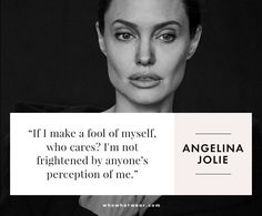 Angelina Jolie on self-confidence. - - [Angelina Jolie on self-confidence. Angelina Jolie on self-confidence.-- Begin Yuzo --><!-- without result -->Related Post Angelina Jolie on self-confidence. Motivacional Quotes, Girl Quotes, Woman Quotes, Great Quotes, Quotes To Live By, Funny Quotes, Inspirational Quotes, Motivational, Qoutes