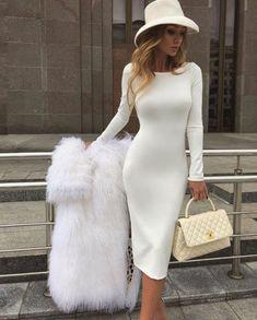 Elegant White Dress, Elegant Outfit, Classy Dress, Classy Casual, Elegant Dresses Classy, Classy Style, Elegant Style Women, Elegant Dresses For Women, Elegant Lady