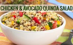 Quinoa Salad- Ignite Phase http://www.tina4mynt.jeunesseglobal.com/