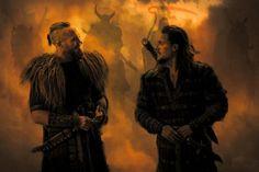 Erik and Uhtred | The Last Kingdom
