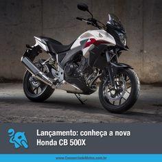 A nova Honda CB 500X chega ao mercado no próximo mês. Acesse a matéria e saiba alguns detalhes do modelo: https://www.consorciodemotos.com.br/noticias/honda-cb-500x-em-ate-70-meses-sem-entrada-e-sem-juros?idcampanha=288&utm_source=Pinterest&utm_medium=Perfil&utm_campaign=redessociais