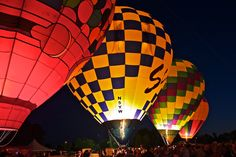 Balloon Glow, Forest Park - St. Louis