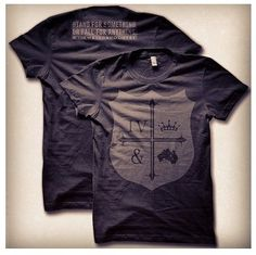 For king and Country shirt - I'd like that! :)