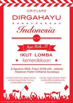 Indonesian flag indonesia pinterest indonesia flag and indonesia independence day indonesia dirgahayu ke70 oriflameid ayorek stopboris Gallery