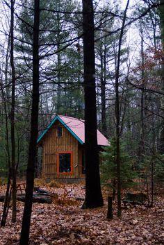 Twin Oaks Cabin in Catskills, NY.