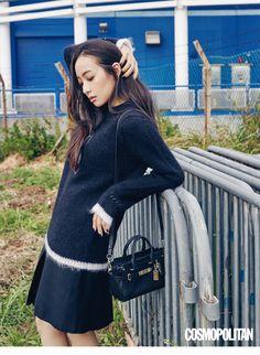 f(x) Victoria - Cosmopolitan Magazine December Issue Victoria Fx, Victoria Song, Mamamoo, South Korean Girls, Korean Girl Groups, Lee Hi, Song Qian, Daily Look, Editorial Fashion
