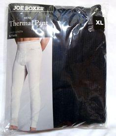 "Joe Boxer Thermal Pant  XL ( 40 - 43 )  "" Navy ""  New #JoeBoxer #Bottom"