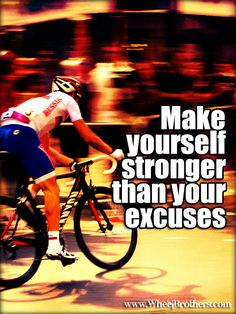 Make yourself stronger....